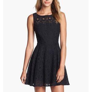 B.B. Dakota 'Renley' Lace Fit & Flare Dress